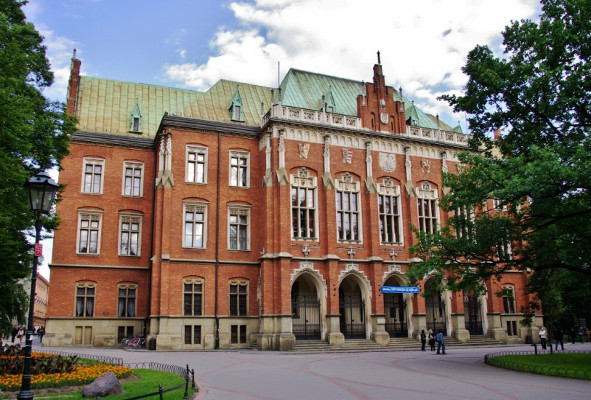 Jagiellonian University in Krakow has won a golden award